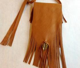 Boho Crossbody Leather Purse